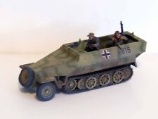 28mm Bolt Action Chain Of Command German Hanomag 251 With Crew - Painted #1