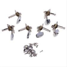 Inline Keys Heads 3L+3R Tuning 6 Piece Pegs Locking String Guitar Tuners