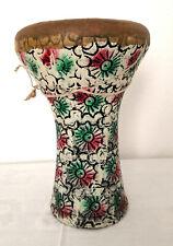 ägyptische Darbuka (Handtrommel) aus Ton