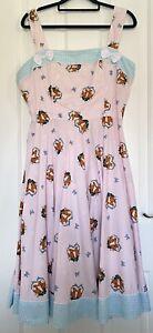 Hell Bunny Fox Print Dress Size XL