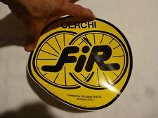 NOS  FIR cycling sticker for lenticular wheel vintage