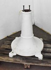 Vintage Cast Steel Machine Pedestal Round (Ctam #4566)