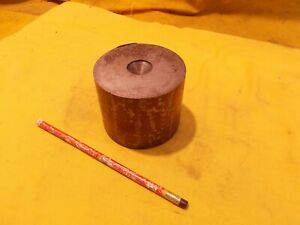 "A-6 TOOL STEEL ROD machine mold die shop round bar stock A6 3 1/2"" OD x 2 3/4"""