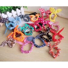 10PCS Korean Girls Bunny Ear Headband Rabbit Ear Hair Band Bow Tie Fashion Lots