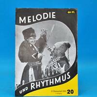 GDR Melody and Rhythm 20/1959 Günter-frieß-sextett Rochus-Brünner-Sextett