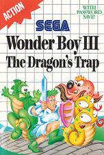 ## SEGA Master System - Wonder Boy 3: The Dragon´s Trap / MS Spiel ##