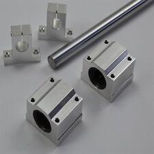 20mm CNC Cylinder slide shaft-800mm+SCS20UU bearing blocks+SK20 support mounts
