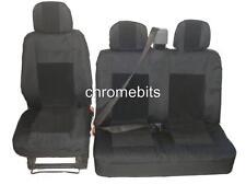 Premium tissu Ensemble Couvertures de siège 2+1 pour Peugeot Partner
