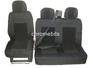 PREMIUM FABRIC SEAT COVERS FOR MITSUBISHI FUSO CANTER IVECO DAILY NISSAN NV300