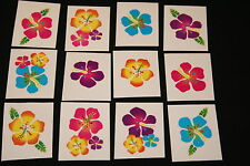 18 x Flower Tattoos Great for Kids Parties or Stocking Fillers