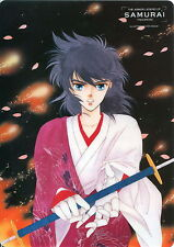 Yoroiden Samurai Troopers Shitajiki Pencil Board mousepad Ryo Ken Mizuki - RARE
