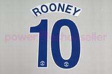Manchester United 2008/2009 #10 ROONEY Away Nameset Printing