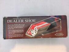 New: Excalibur Casino Blackjack Card Dealer Shoe, 4 deck, Premium Acrylic +cards