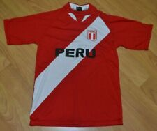 Peru National Team Football Soccer Jersey Youth Large Adult Small Nice