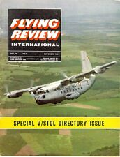 FLYING REVIEW INTL NOV 63 WW2 FOKKER D.XXI_C-141_J29 CONGO_MIG-21_BREGUET 941 VI