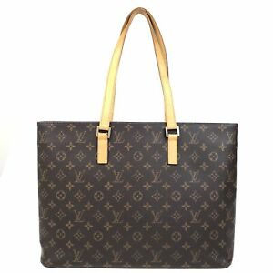 100% Authentic Louis Vuitton Monogram Luco SHOULDER BAG M51155 [USED] {07-0262}