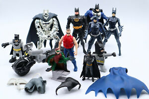 Lot Of Batman DC Animated Series Mattel Kenner Action Figures Bike Accesories