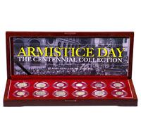 Armistice Day: Centennial of WWI - 12 Silver Coin Collection SKU52274