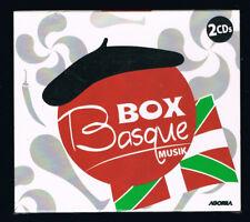 ♫ - BOX BASQUE MUSIK - 2 CD SET - NEUF NEW NEU - ♫