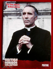 BRITISH HORROR COLLECTION - To The Devil... A Daughter - PRAYING - Card #48