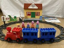 Peppa Pig Train Station Complete Building Blocks PlayBig Toys Duplo Compatible