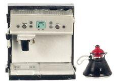 Miniature Espresso Machine with Pot - 1:12 Scale