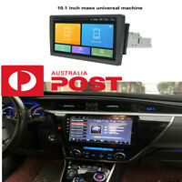 """1DIN Rotatable 10.1"""" Touch Screen Android 8.1 1080P Wifi Car Stereo Radio GPS"""