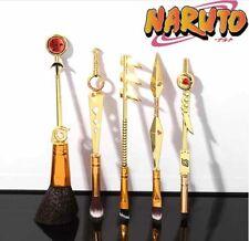5Pcs/set Naruto Makeup Brush Set Cosmetic Powder Brushes