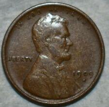 Very Fine 1909-S Lincoln Cent, Solid specimen.