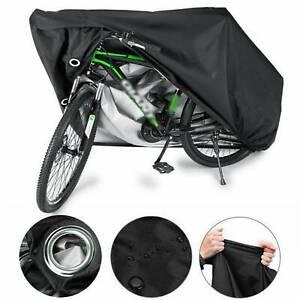 Waterproof Bike Cover Bicycle Rain Sun Dust Snow Proof Outdoor Protector Storage