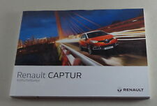 Instructieboekje Renault Captur Stand 04/2016