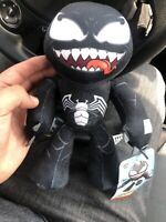 """Marvel Venom Posable Plush 9"""" Height NEW with Tags Flexers"""