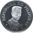 SILVER - WORLD Coin - 1975 Philippines 25 Piso - World Silver Coin *142