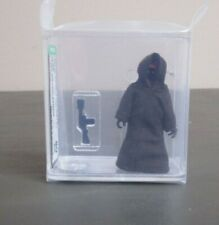 Jawa Dark Brown Stitch 1977 STAR WARS Graded AFA 80 NM HK Coo JJ New Case