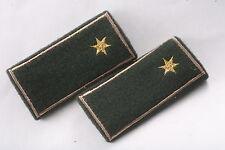 Hungary Hungarian Republic Second Lieutenant Field Shoulder Star Loop Tab Badge
