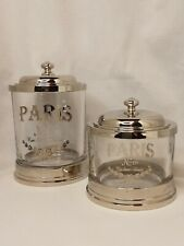 2 Bella Lux Apothecary Jars