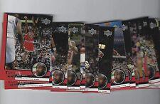 3 SETS( 90) MICHAEL JORDAN 1999 UPPER DECK 30 CARD TRIBUTE SET IN A TEAM SET BAG