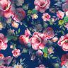Home Dressing Top Baumwollstoffe mit Blumenmuster von der Werft 44 Zoll breit