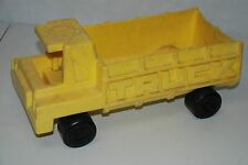 "Vintage 1971 Mattel TUFF STUFF TOY 13"" Truck, Yellow Plastic"