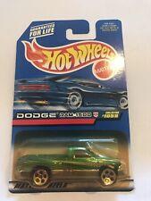 NEW HOT WHEELS MATTEL 1999 DODGE RAM 1500 GREEN # 1059 # 24073 1:64 SCALE