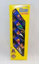 1991 CAMEL HARD PACK LIGHTERS COLLECTORS SET, BUSTAH, EDDIE, FLOYD, JOE & MAX