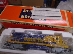 Lionel Santa Fe Dash 8 40B Diesel Locomotive 6-18206 Dual Motor
