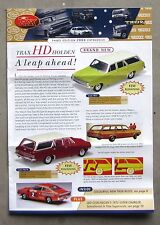 TRAX CATALOGUE 2004 Brochure DieCast 1/43 HD HOLDEN CHARGER R/T E38 GTS 350 327