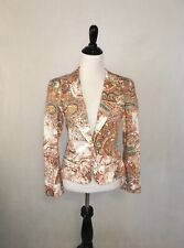MESMERIZE Beaded Colorful Blazer Jacket / Women's Size XS Small