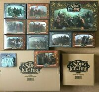 A Song Of Ice & Fire Miniatures Game CMON Game Of Thrones Models Boxed