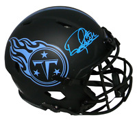 DERRICK HENRY SIGNED TENNESSEE TITANS ECLIPSE FULL SIZE AUTHENTIC SPEED HELMET