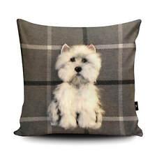 Westie Dog Cushion by Sharon Salt, Dog Collectables, Home Decor, Gifts SA12U