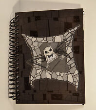 Lenticular Jack Skellington Sally Spiral Notebook Journal Nightmare B4 Christmas