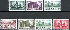 Saar 1952 Buildings Issues 7 Different MNH Scott's 232 233 236 to 239 & 242