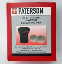 Paterson PTP115 Super System 4 Universal Film Developing Tank c/w 2 Reels